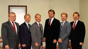Westerfield brothers (Left to Right)  David, Jerry, Larry, Oscar, Joe, and Tom.