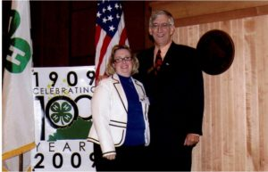 Paul Hall and his wife, Jill, Kentucky 4-H First Treasurer in 1978, at the 100 year celebration.
