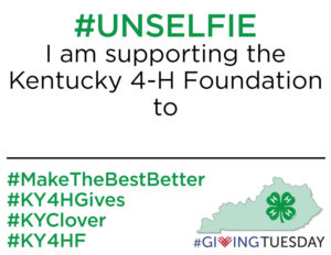 the make the best better campaign kentucky 4 h foundation. Black Bedroom Furniture Sets. Home Design Ideas